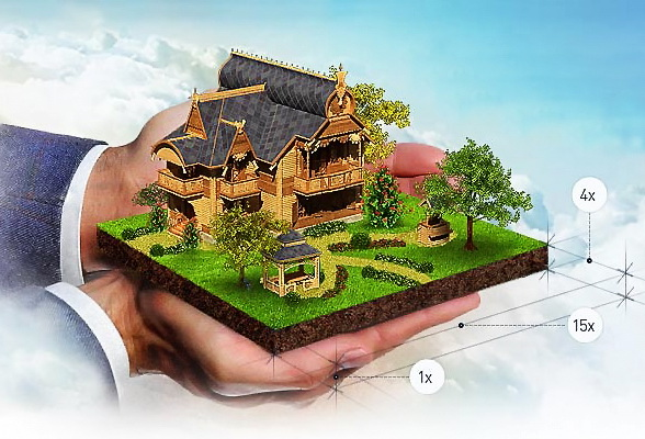 Кредит под залог дома с участком с оценкой стоимости земли