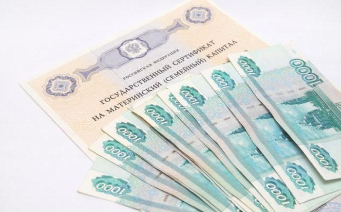 Покупка дома под материнский капитал и передача денег продавцу