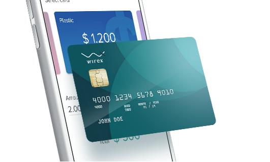 Как обналичить биткоины с помощью сервиса Wirex и его карты