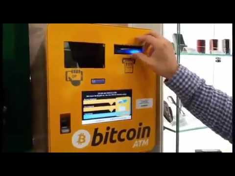 Как обналичить биткоины в России через автоматы