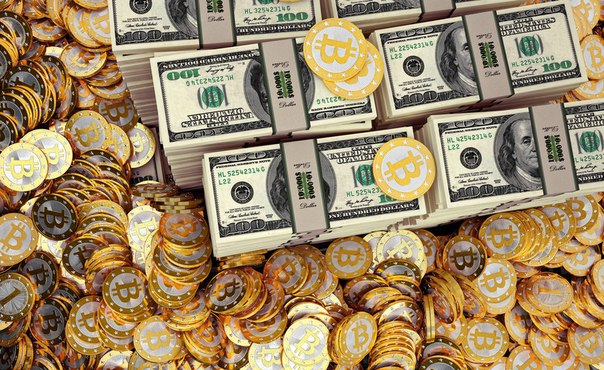 Курс биткоина за все время и 2017 год