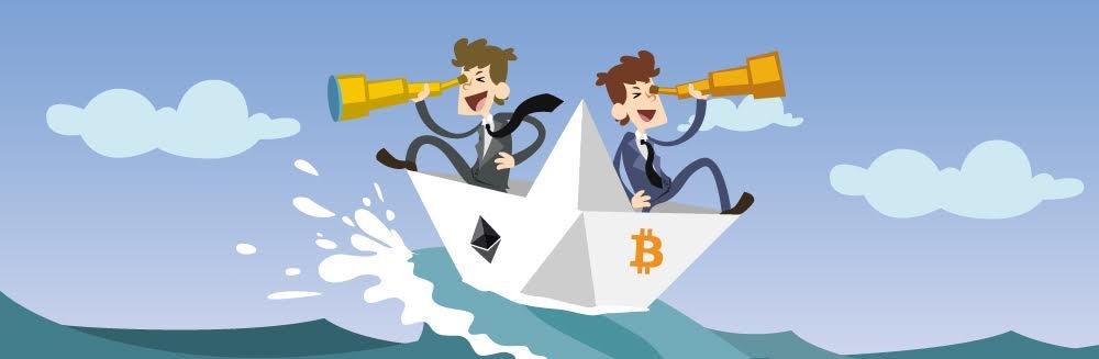 Прогноз курса биткоина зависит от его конкурентов