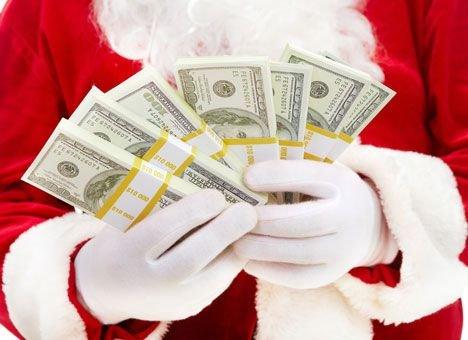 Новый год банковские работники