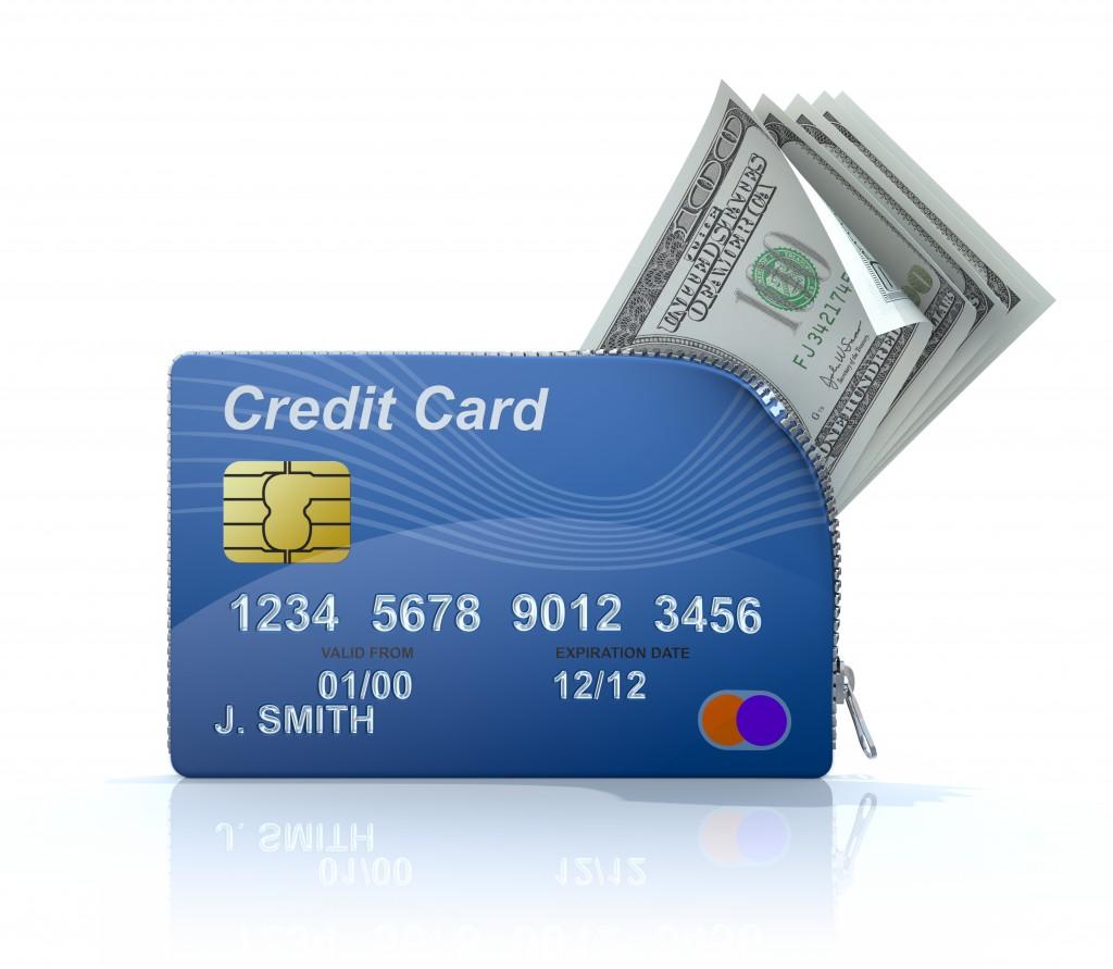 кредит или кредитную карту
