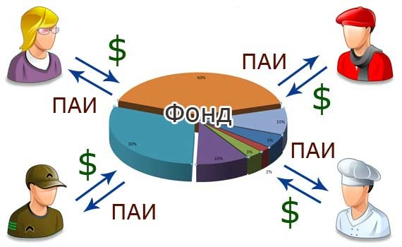 Паевой инвестиционный фонд это деньги разных вкладчиков