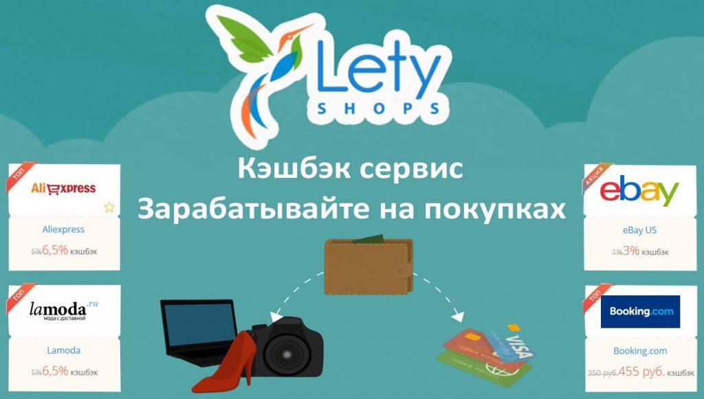 LetyShops кэшбэк Алиэкспресс топ лучших 2017