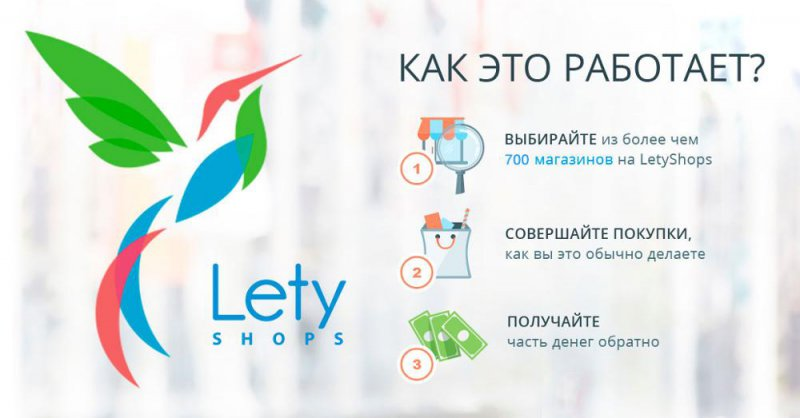 LetyShops предлагает самый большой кэшбэк на Алиэкспресс