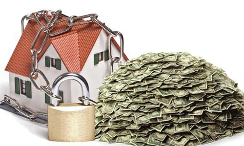 Залог по кредиту на постройку дома