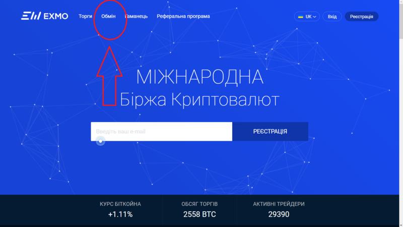 Биржа криптовалют с обменом и переводом биткоинов на карту