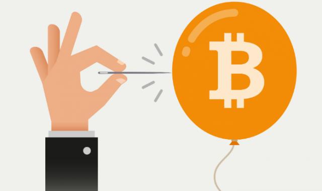 Возможные причины падения курса биткоина