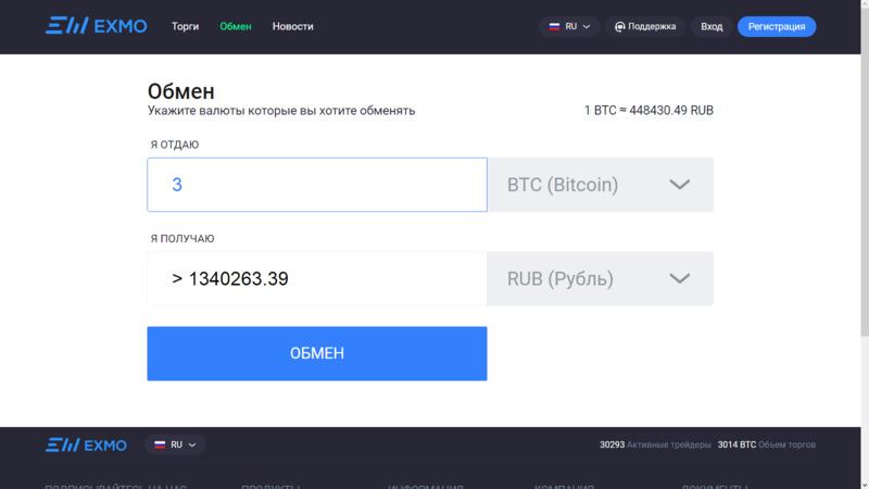 Инструкция, как как перевести биткоины в рубли через биржу