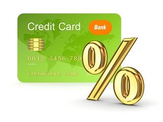 Главное отличие кредитной карты от других - процент за пользование заемными деньгами
