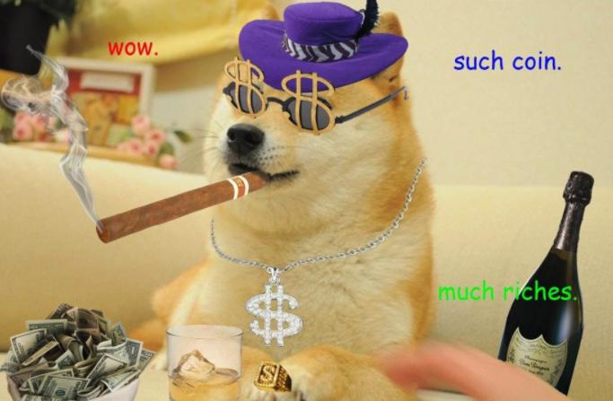 Почему dogecoin прогноз на будущее 2018 года оптимистичный