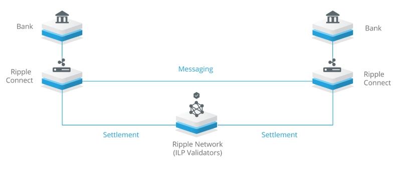 Пример работы протокола рипл в банковских переводах