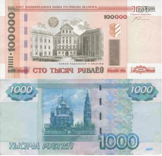 Сколько стоит белорусский рубль в российских рублях и наоборот