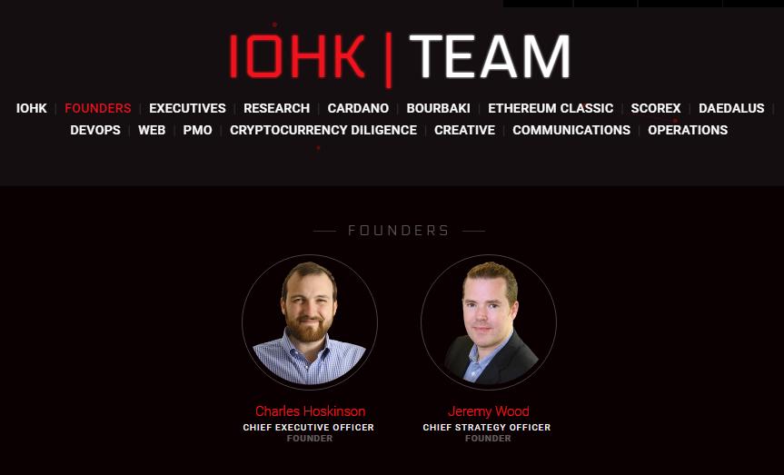 Основатели и разработчики cardano криптовалюты